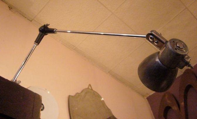 Lampe machine à coudre