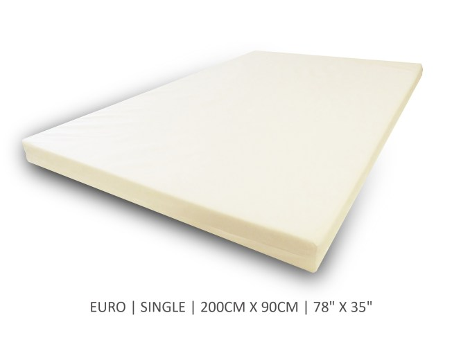 Euro Single Mattress Topper Replacement Covers