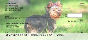 Yorkshire Terriers Personal Checks