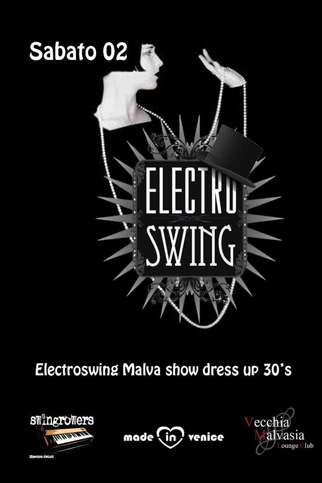 Electroswing Malva show dress up 30's