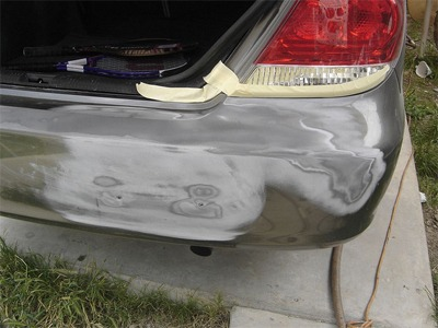 how to stop bumper from peeling