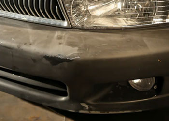 save over 300 by spray painting car bumper yourself