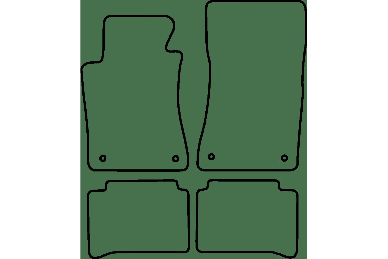 Mb E Class W211 Velours Automatten