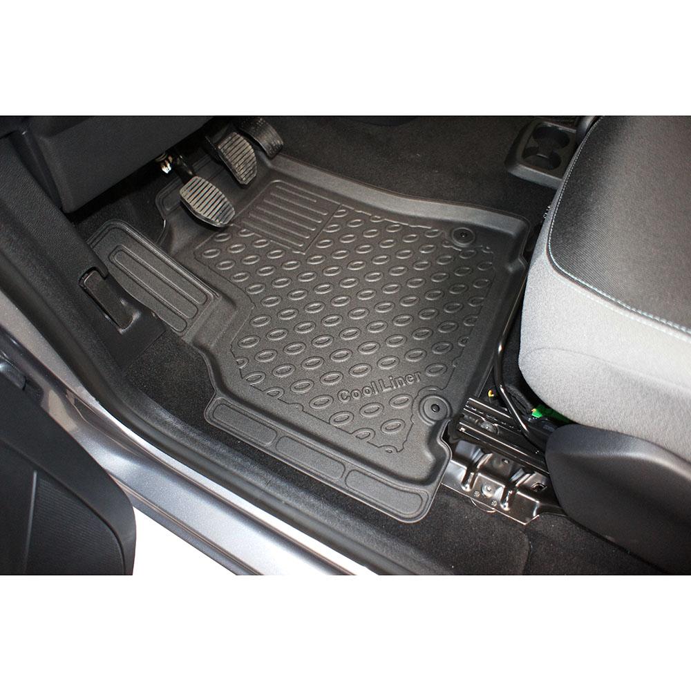 car mats peugeot partner ii b9 2008 2018 cool liner pe tpe rubber