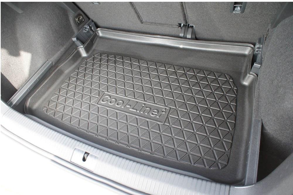 tapis de coffre volkswagen golf vii sportsvan 5g 2014 present cool liner antiderapant pe tpe caoutchouc