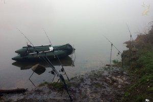 Brouillard à Rabodanges.