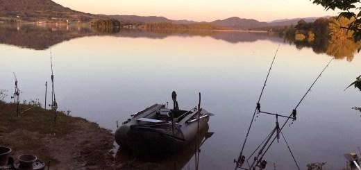 Coucher du soleil au lac de Montbel