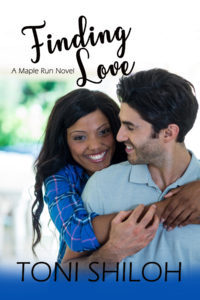 Toni Shiloh's newest book, FINDING LOVE, on tour with Celebrate Lit