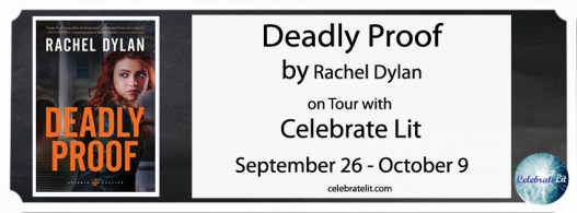 Deadly Proof on tour with Celebrate Lit and featured on CarpeDiem.fyi