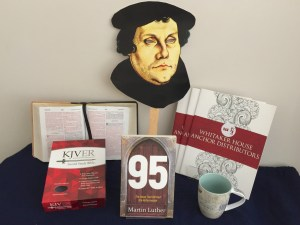 GiveAway for 95: the Ideas that Birthed the Reformation by Martin Luther on tour with Celebrate Lit and featured on CarpeDiem.fyi