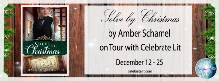 Solve by Christmas on tour with Celebrate Lit and featured on CarpeDiem.fyi