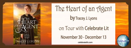 The Heart of an Agent on tour with Celebrate Lit and featured on CarpeDiem.fyi