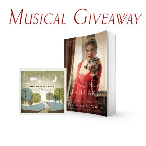 Give Away for Roseanna M. White author of A Song Unheard on tour with Celebrate Lit and featured on CarpeDiem.fyi