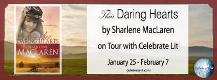 Their Daring Hearts on tour with Celebrate Lit and featured on CarpeDiem.fyi