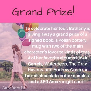Give away for Strains of Silence on tour with Celebrate Lit and featured on CarpeDiem.fyi