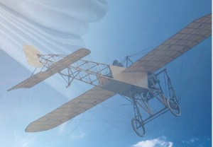 Across the Blue, features fascinating aviation facts set in early 20th century England.