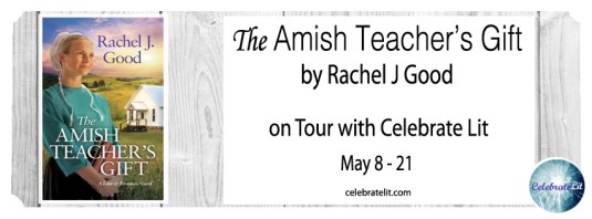 The Amish Teacher's Gift on tour with Celebrate Lit and featured on CarpeDiem.fyi