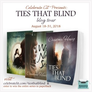 Giveaway for Chautona Havig, author of Ties that Blind on tour with Celebrate Lit and Featured on CarpeDIem.fyi