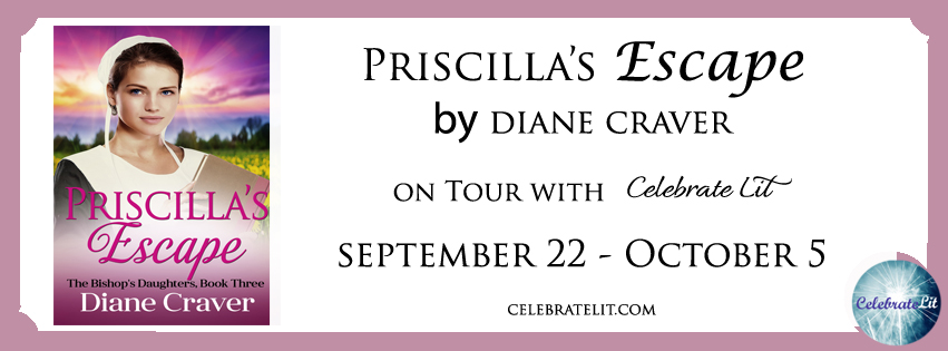 Priscilla's Escape on tour with Celebrate Lit and featured on CarpeDiem.fyi