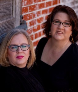 Gina and Becca, authors of The Kitchen Marriage on tour with Celebrate Lit and featured on CarpeDiem.fyi
