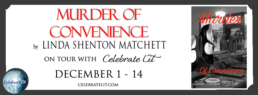 Murder of Convenience on tour with Celebrate Lit and featured on CarpeDiem.fyi