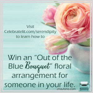 Giveaway for Chautona Havig, author of Premeditated Serendipity on tour with Celebrate Lit and featured on CarpeDiem.fyi