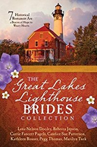 The Great Lakes Lighthouse Brides Collection on tour with Celebrate Lit and featured on CarpeDiem.fyi