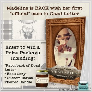 GiveAway for Chautona Havig, author of Dead Letter on tour with Celebrate Lit and featured on CarpeDiem.fyi