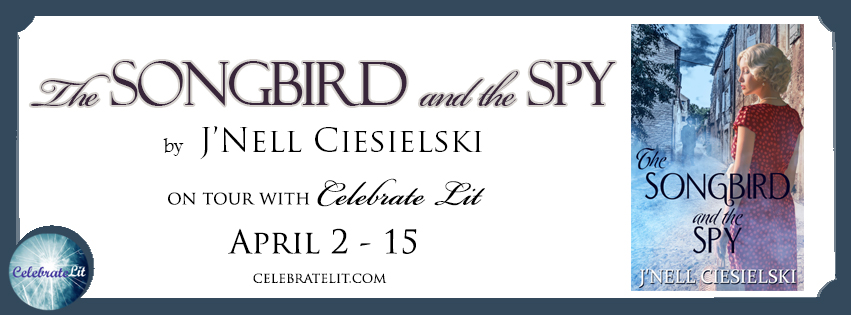 The Songbird and the Spy on tour with Celebrate LIt and featured on CarpeDIem.fyi