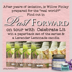 GiveAway for Chautona Havig, author of Past Forward on tour with Celebrate Lit and featured on CarpeDiem.fyi