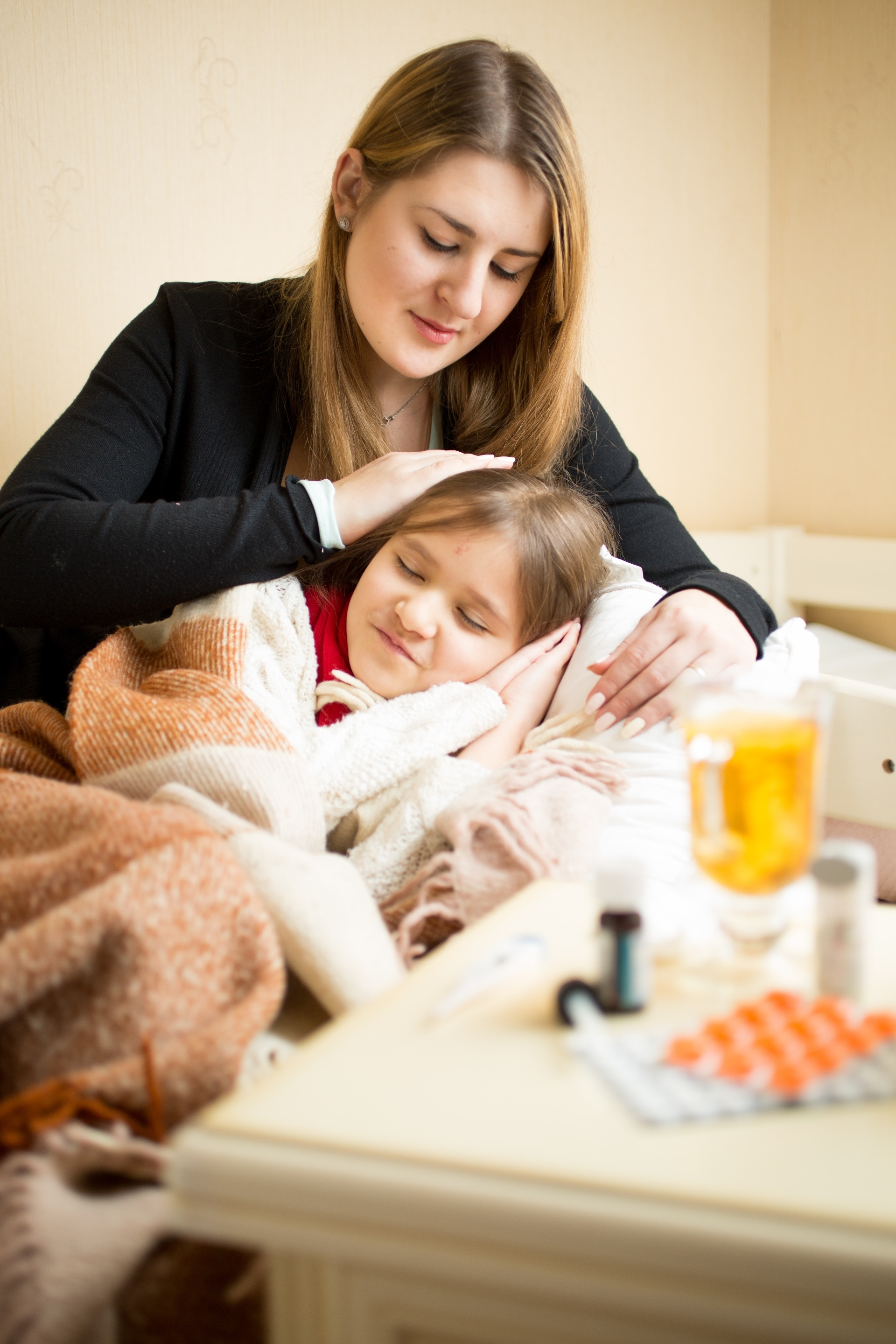 Caring For A Sick Child During Flu Season