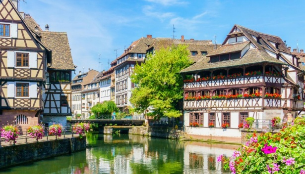 Typical Houses in Strasbourg