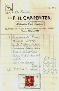 Receipt 1-5-1959