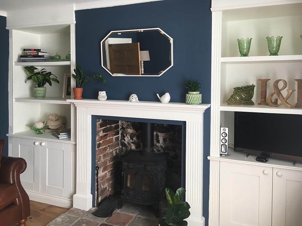 Alcove units & fire surround