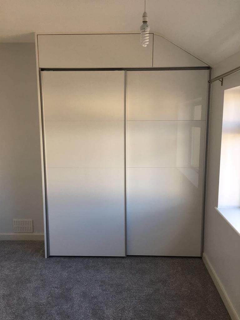 Bedroom Carpentry bespoke sloped wardrobes Norwich