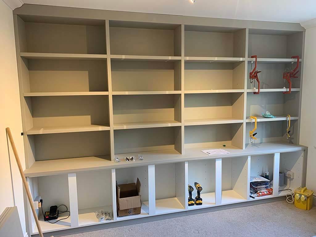 Bespoke Bookcase Carpentry