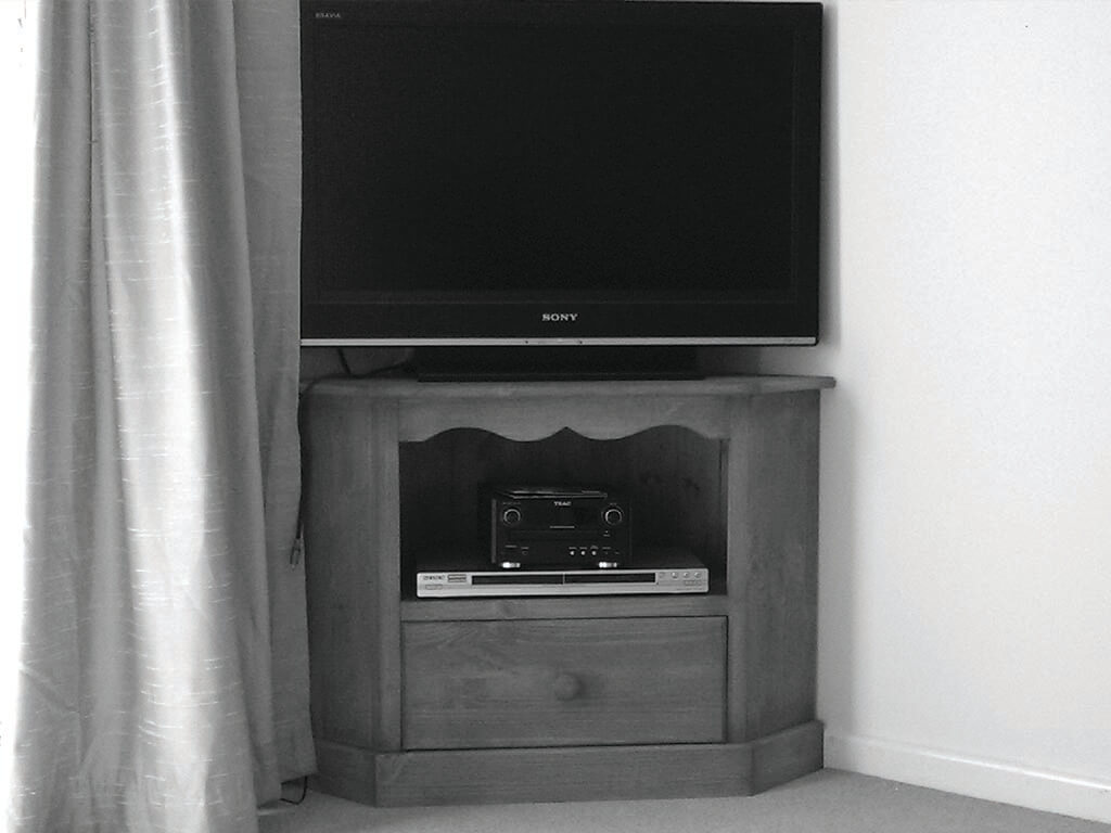 Bespoke Wooden Handmade TV unit Norwich Carpenter