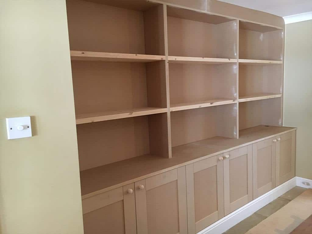 Hand Made MDF Storage Units Norwich Carpenter
