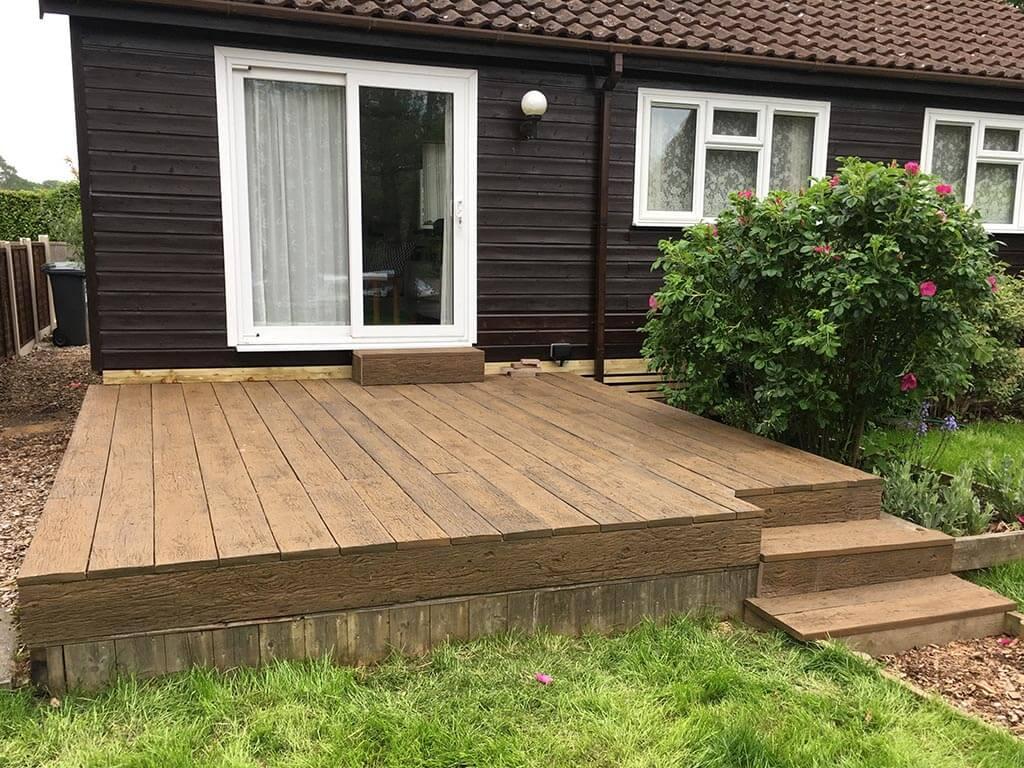 Norwich Carpenter Garden Decking