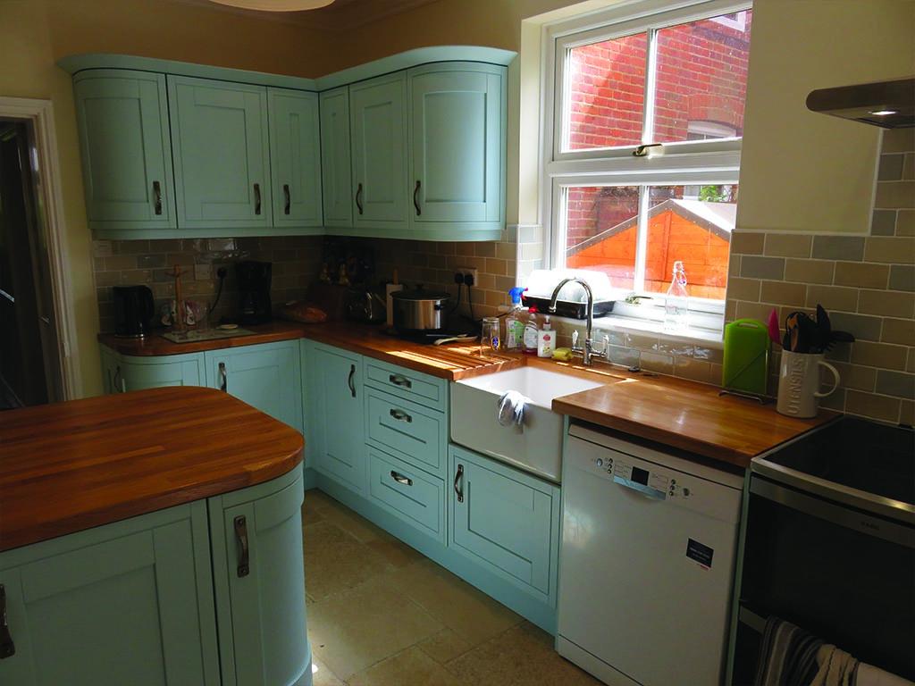 Norwich Carpenter Wooden Handpainted Kitchen