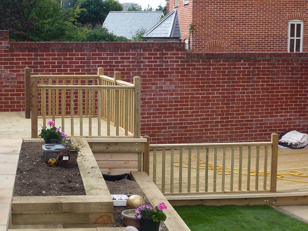 Norwich Carpentry Decking and Handrail