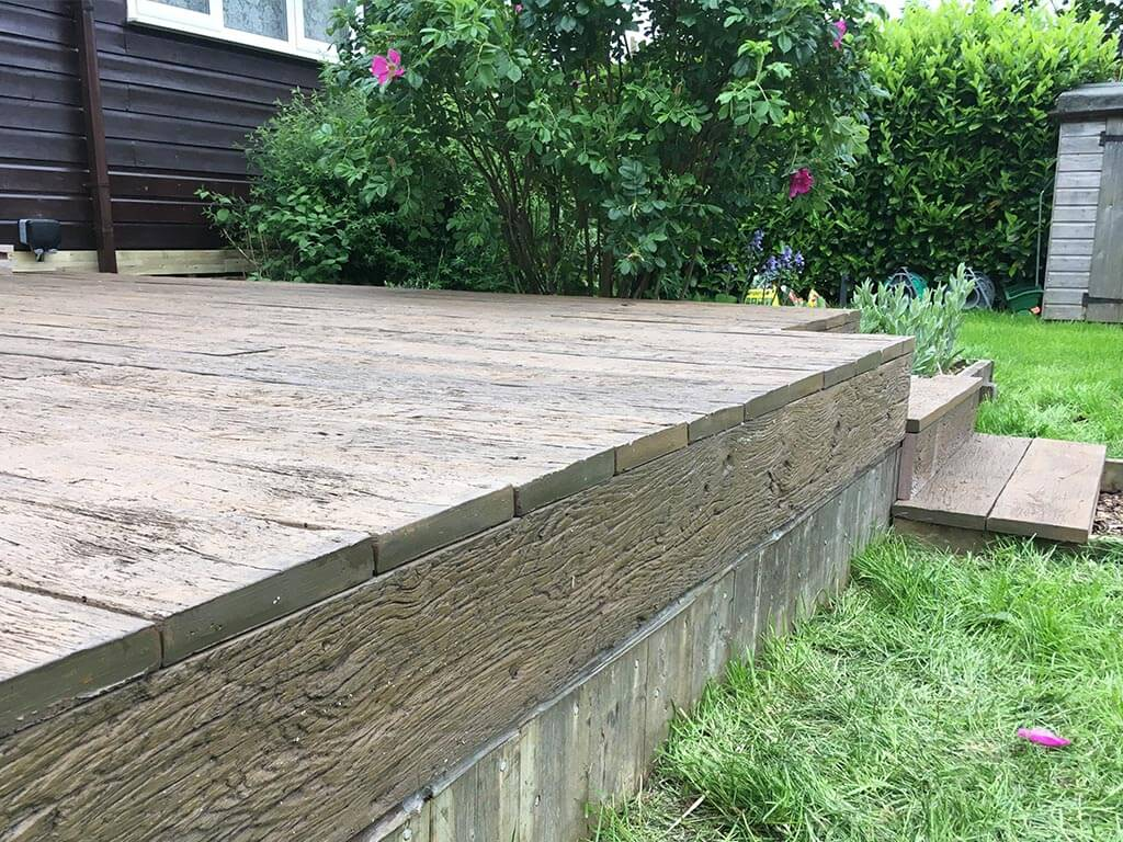 Norwich Carpentry Garden Decking