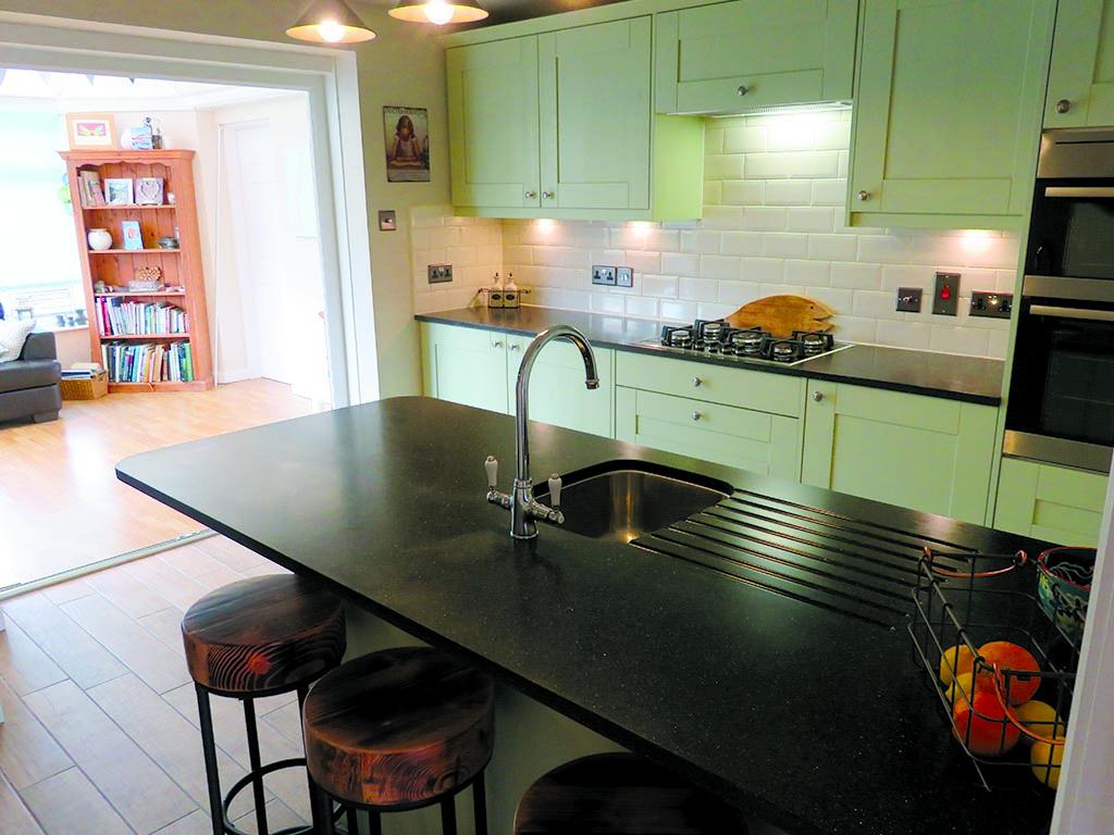 Norwich Carpentry Painted Wooden Kitchen Storage