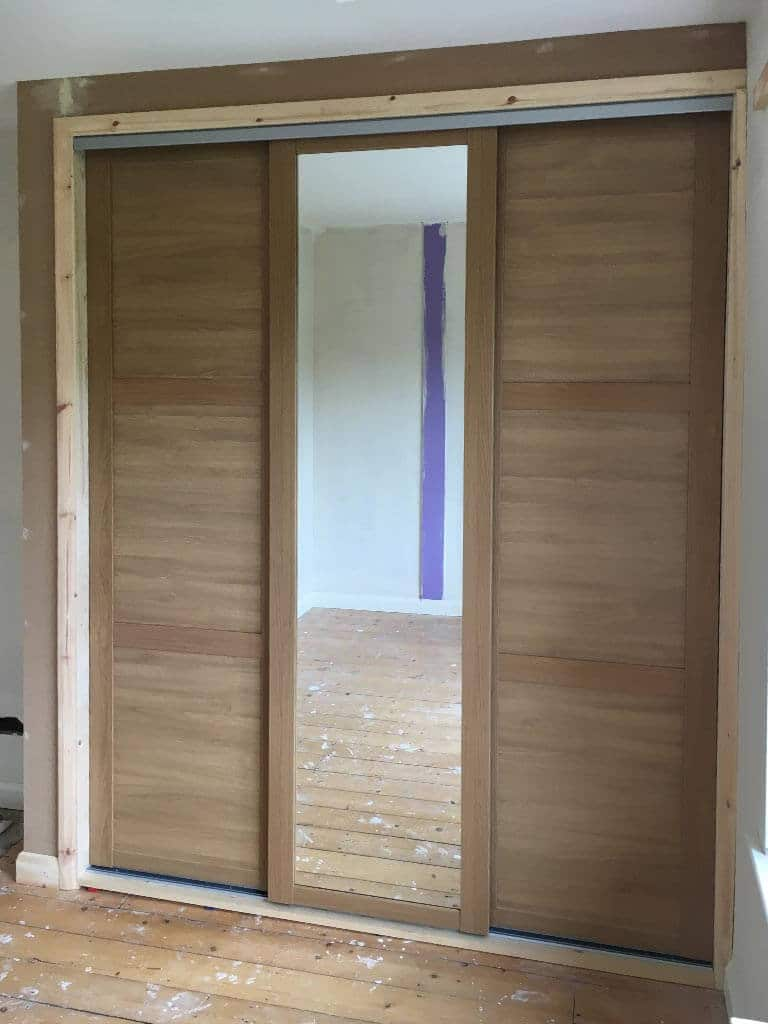 Oak effect wardrobe doors Norwich