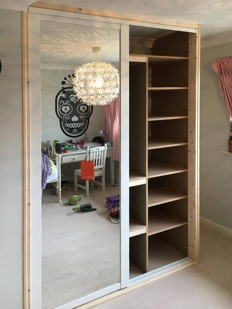 Wardrobe internal shelving Installation Norwich
