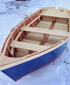 monhegan skiff - top view