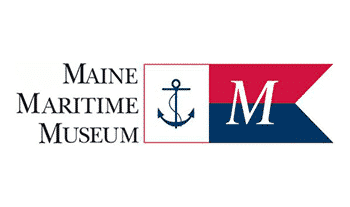 Maine Maritime Museum logo and link