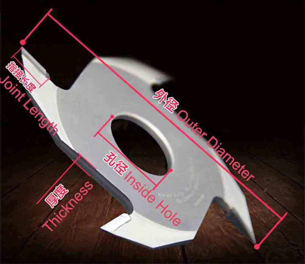 4T teeth Woodworking Machinery Finger Joint Cutter-1