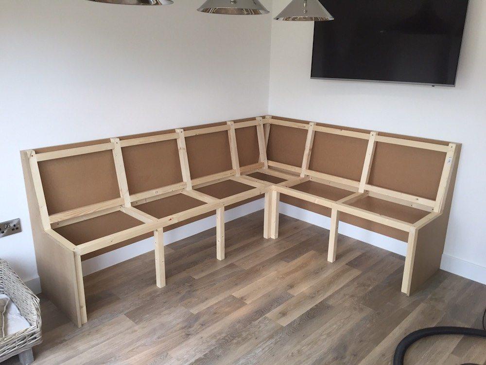 Corner Seating Carpentry By Craig Ross