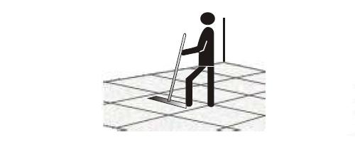 Instrukcja czyszczenia podłóg twardych, krok 5